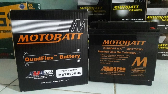 harga Aki motor honda goldwing 1800 mbtx20uhd motobatt quadflex Tokopedia.com