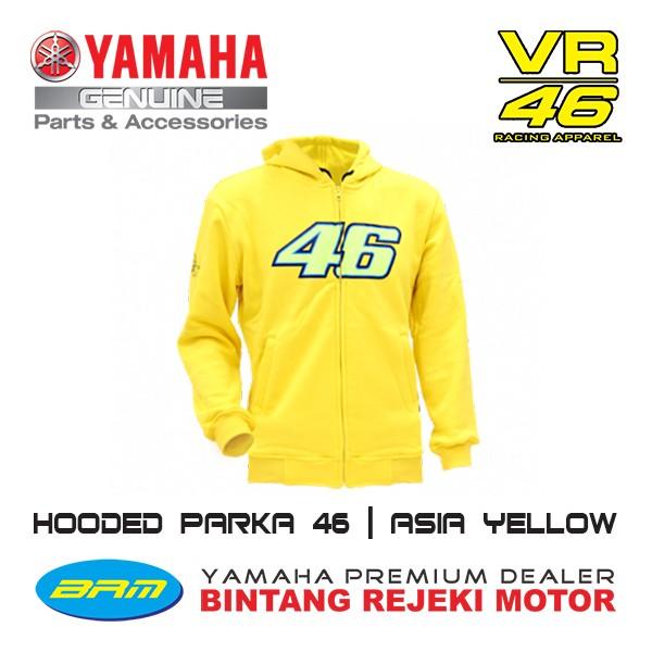 harga Hooded parka - jacket sweater vr46 Tokopedia.com
