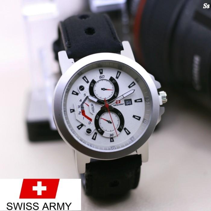 harga Jam tangan pria swiss army chrono variasi black Tokopedia.com