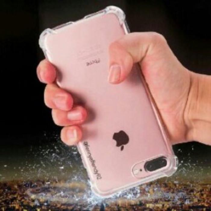 Case Anti Crack Ultra Slim Thin Clear Anti Shock iPhone 6 6s Plus