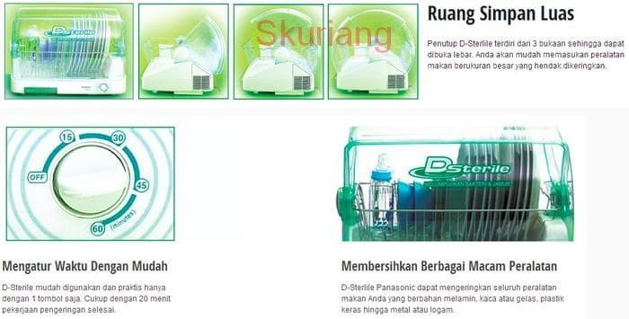 Terlaris Sale Panasonic Dsterile Sterilizer Dish Dryer FD-S03S1