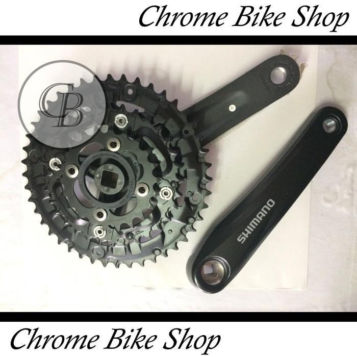 harga Gir gear crank sepeda shimano acera m391 hitam Tokopedia.com