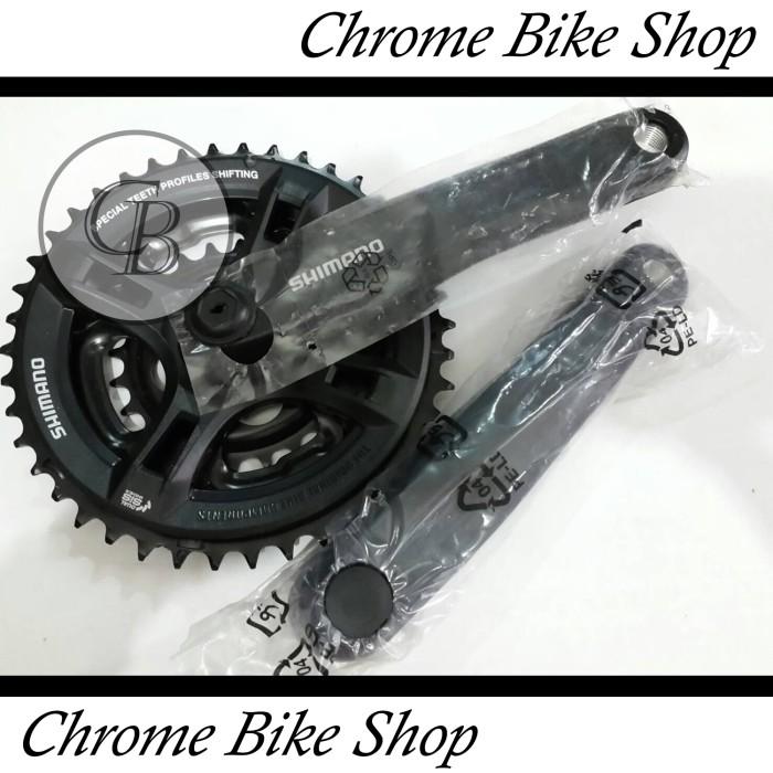 harga Gir gear crank sepeda warna hitam shimano sis 42 Tokopedia.com