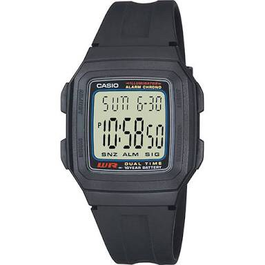harga Jam tangan casio f 201 w / f-201 w Tokopedia.com