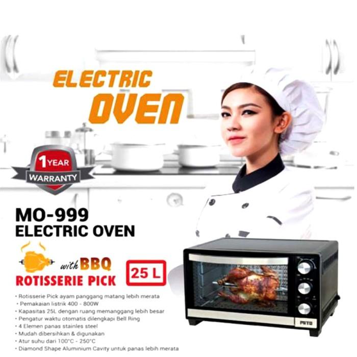 Oven listrik paling murah mito mo-999 kapasitas 25liter