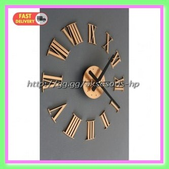 Jual DIY Giant Wall Clock 30 60cm Diameter ELET00662 Jam Dinding ... ddb168cb3b