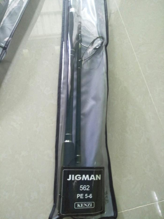 harga Joran jigging jigman pe 5-6 Tokopedia.com