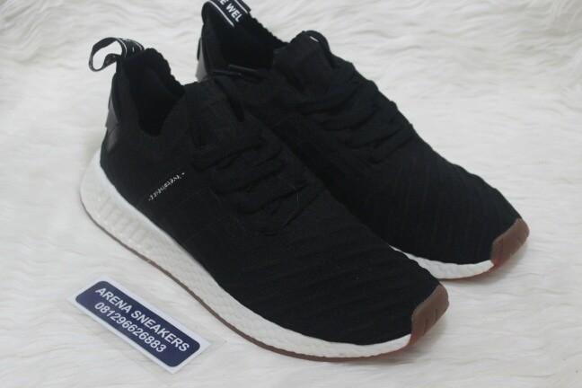 25aef85ca Jual Sepatu Adidas NMD R2 PK Japan Black - Premium Quality - Arena ...