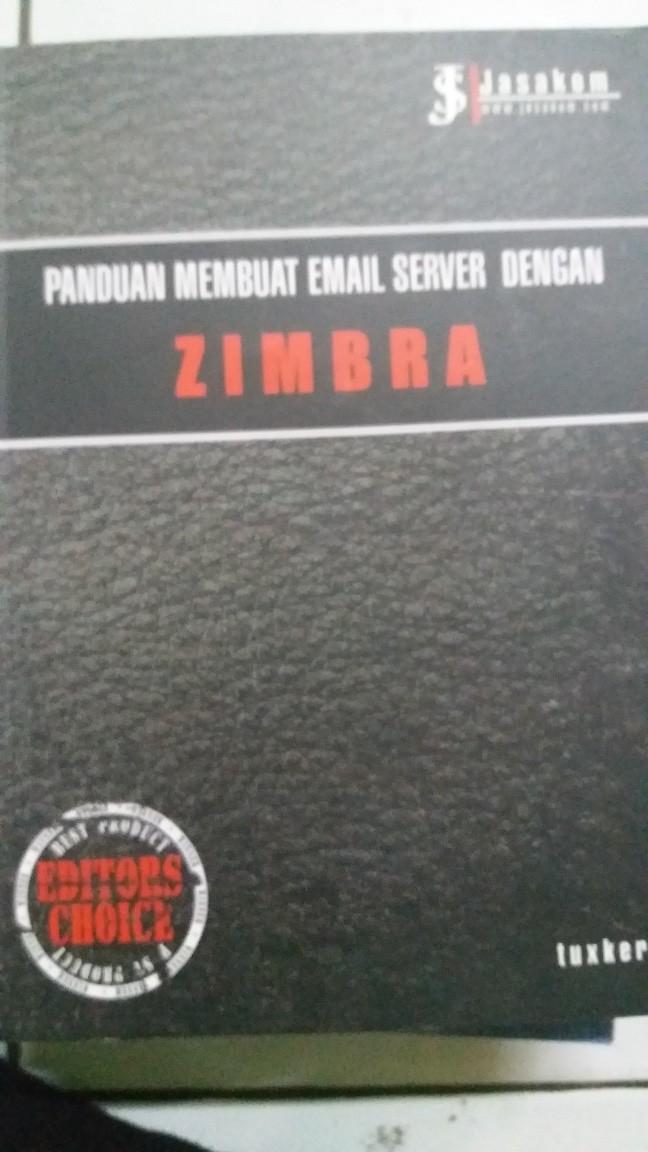 Jual Panduan membuat email server dengan ZIMBRA - DKI Jakarta - bursa buku  melawai | Tokopedia