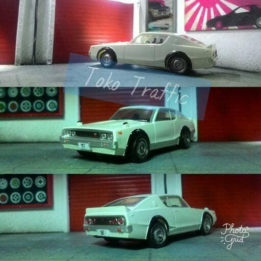 harga Nissan skyline gt r kpgc 110 putih velg kaleng skala 64 Tokopedia.com