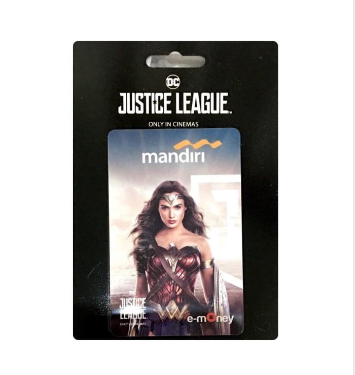 harga Kartu etoll emoney mandiri justice league batman superman the flash Tokopedia.com