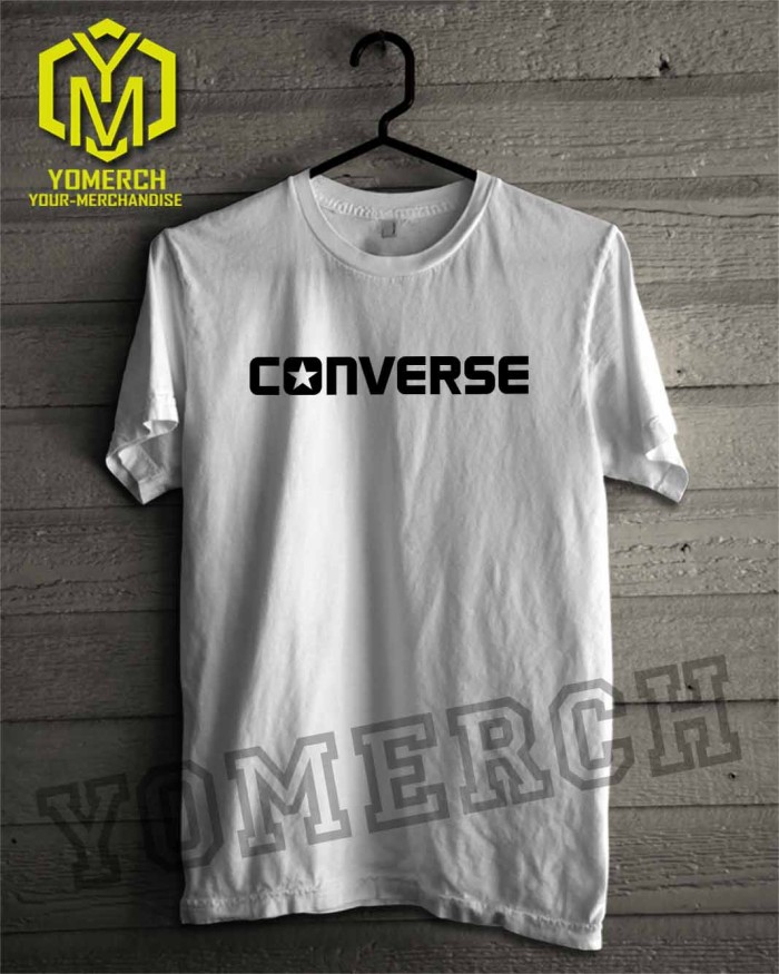 Baju Kaos Converse Keren Yomerch