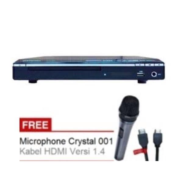 harga Dvd Player Hdmi 1080p Crystal 635 Feature Karaoke | Usb Port | Hdmi Po Tokopedia.com