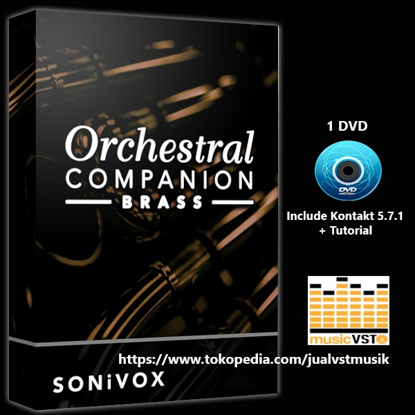 Jual VST Orchestral Companion Brass - Jakarta Barat - MUSIC VST | Tokopedia
