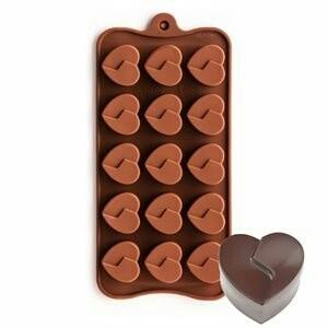harga Cetakan coklat silicone united heart 15 cav Tokopedia.com