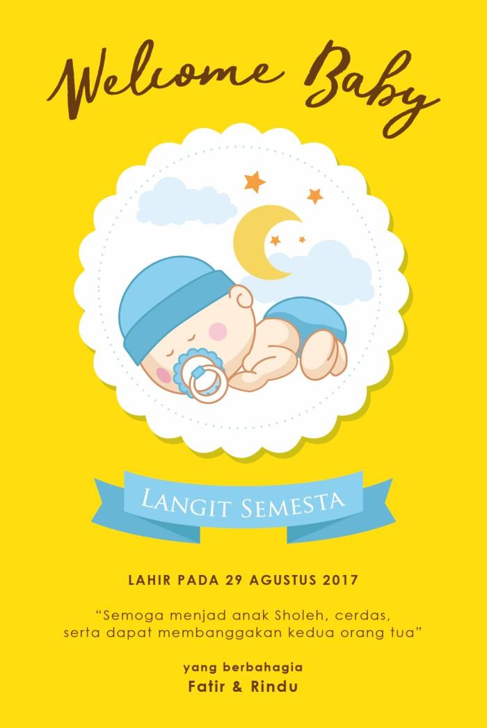 Kartu Ucapan Kelahiran Bayi | Kata Kata Mutiara