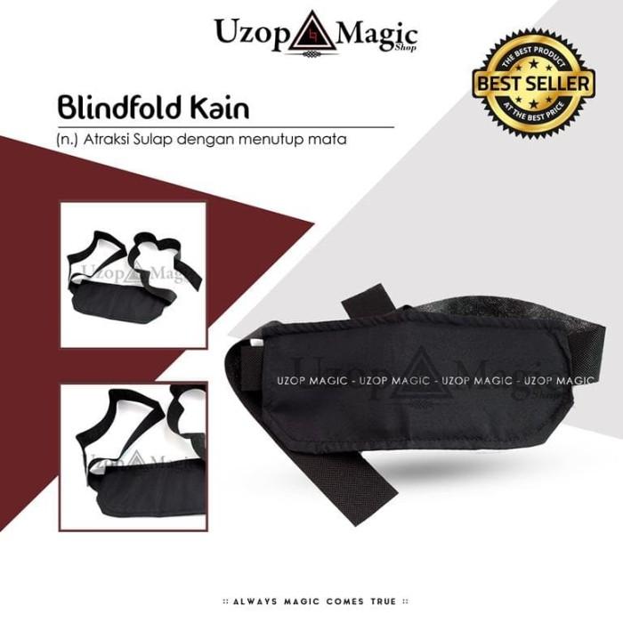 harga Blindfold Kain (alat Sulap Penutup Mata) Tokopedia.com