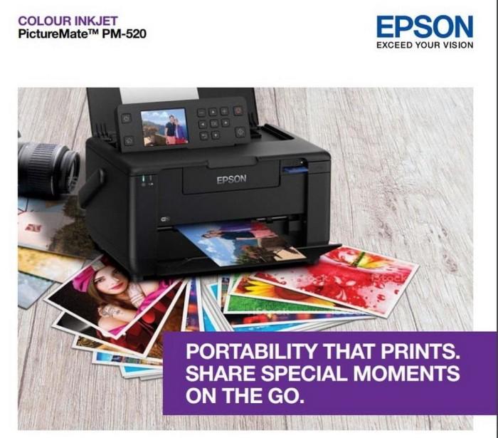 harga Epson picturemate pm-520 pm520 photo inkjet printer garansi resmi Tokopedia.com
