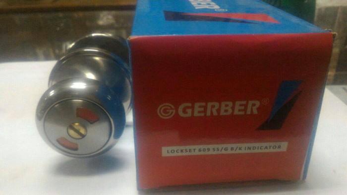 harga Kunci bulat gerber lockset 609 ss Tokopedia.com