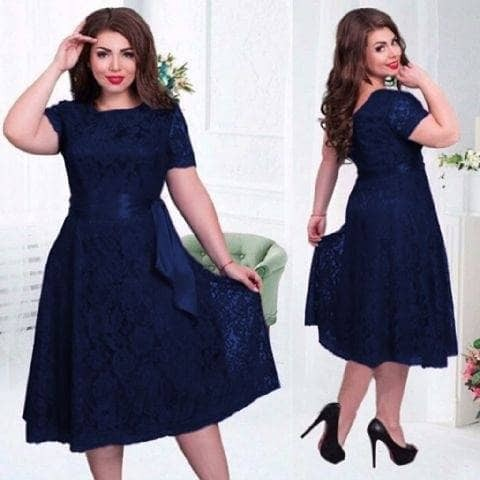harga Dress meli jumbo navi dress pesta dress brukat dress natal Tokopedia.com