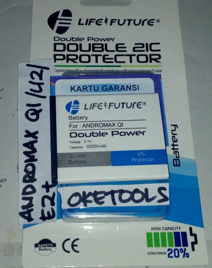 ... harga Baterai andromax u2 e2+ qi 4g lte original lf - batre andromax qi u2 Tokopedia
