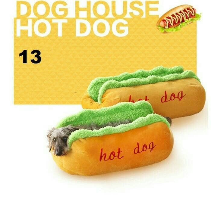 harga Tempat tidur hewan hotdog bantal anjing kucing selimut pet bed dog cat Tokopedia.com