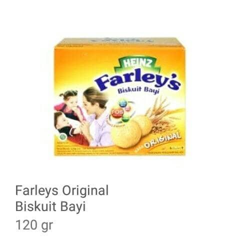 Heinz Farley's Biskuit Bayi Rasa Original 120gr - Blanja.com