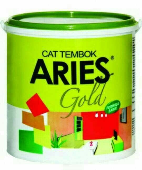harga Cat tembok aries gold 4.5kg & 20kg by avian komplit semua warna Tokopedia.com