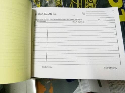 Jual Buku Surat Jalan Nota Do Delivery Order Rangkap 3 Dki Jakarta Shineelectric Tokopedia