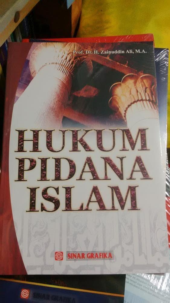 harga Hukum pidana islam-prof dr h zainudin Tokopedia.com