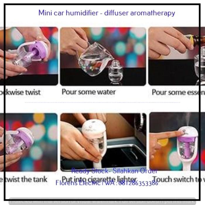 Info Mini Humidifier Travelbon.com