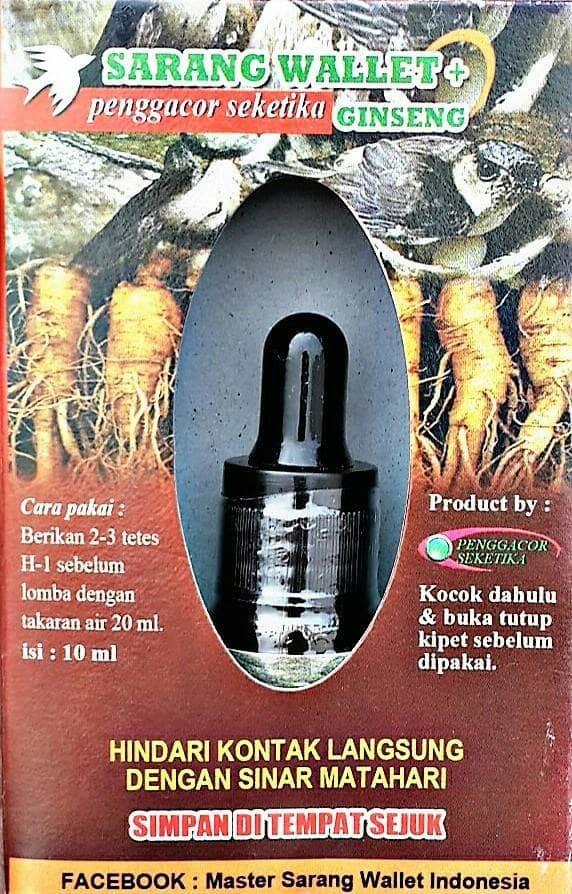 harga Sarang walet obat burung kicau penggacor seketika lovebird cucak ijo m Tokopedia.com