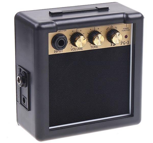 harga Amplifier mini portable speaker gitar elektrik dan akustik 3w - pg-3 Tokopedia.com