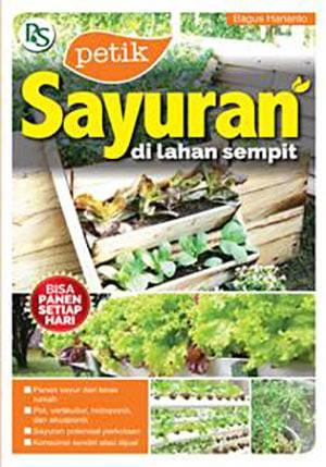 harga Buku petik sayuran di lahan sempit Tokopedia.com