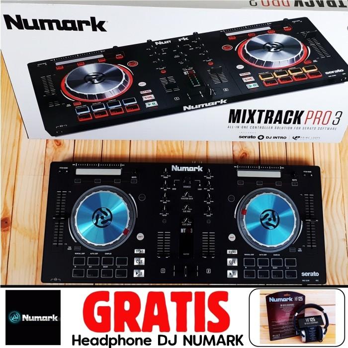 harga Paket Alat Dj Numark Mixtrack Pro 3 Mixtrack Pro Iii Free Headphone Tokopedia.com