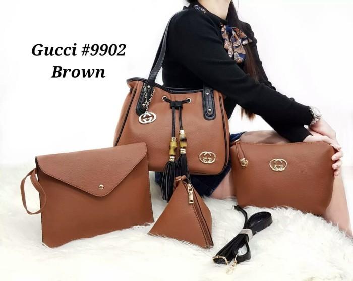 Jual Tas Batam Tas wanita tas import Tas Gucci Hobo serut  9902 ... e551abd328
