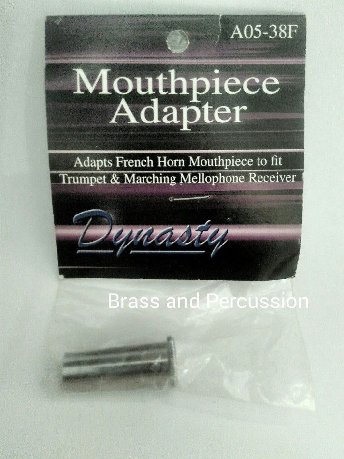 harga Dynasty french horn to mellophone mouthpiece adapter adaptor Tokopedia.com