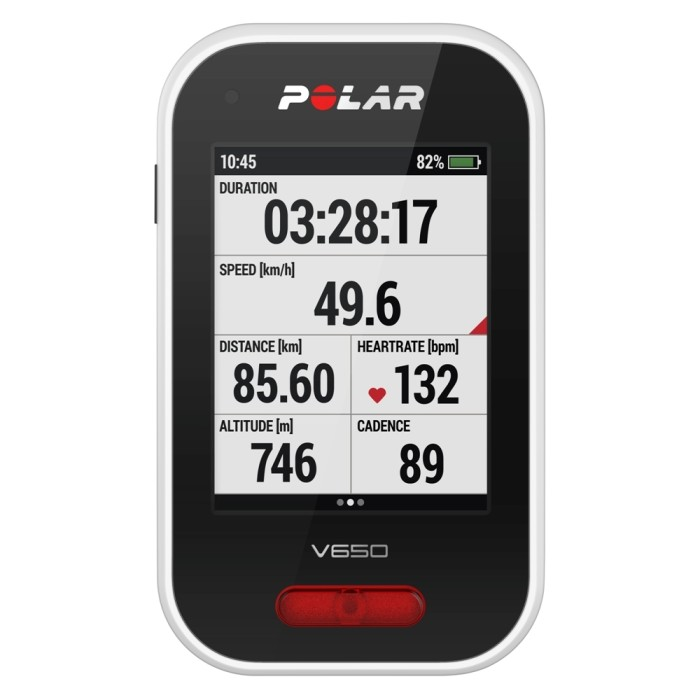 harga Polar smartest cycle computer gps v650 Tokopedia.com