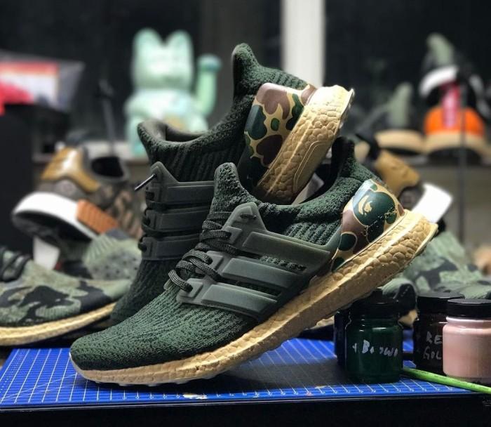Jual sepatu adidas ultra boost x bape Jakarta Selatan sepatu jkt | Tokopedia