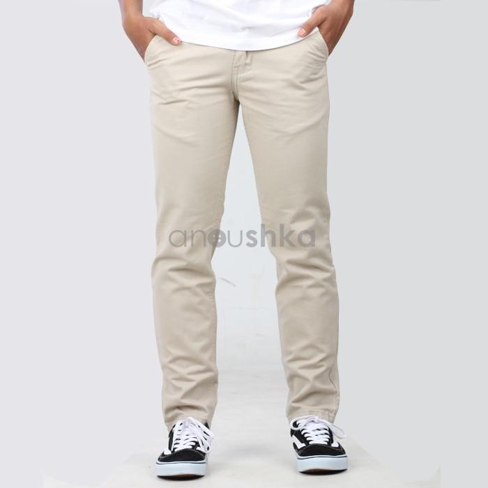 63+  Celana Chino Cotton Twill Paling Baru Gratis