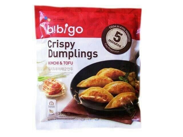 Foto Produk CJ Bibigo Crispy Dumplings Tofu & Kimchi Mandoo dari KIMCHI JJIGAE