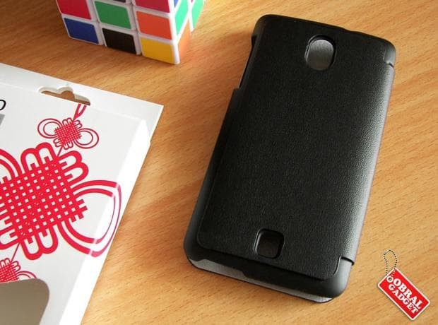 Oppo Find Muse R821 Slim Leather Flip Casing | Sarung Hp | Case |