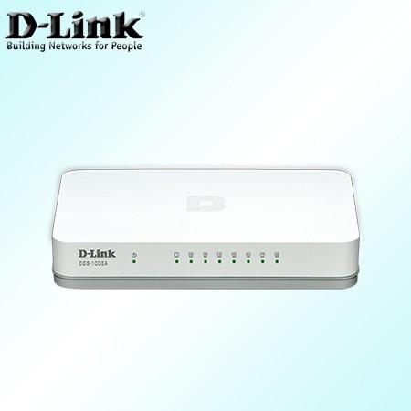 Foto Produk D-LINK DGS-1008A 8-Port Gigabit Desktop Switch dari House Gamers