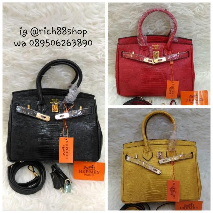 ... harga Tas wanita hand bag hermes  lizard import premium quality  Tokopedia.com 3be5e85706