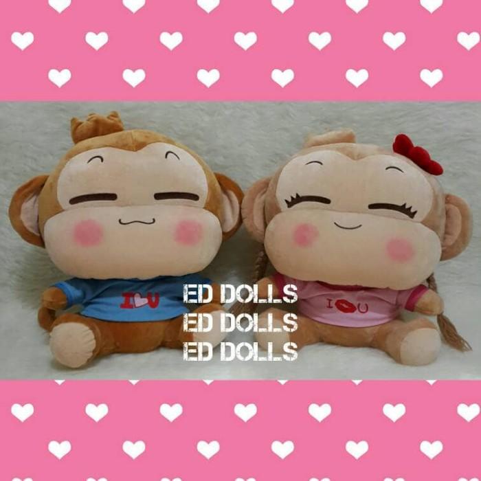 harga Boneka: yoyo / cici (monkey / monyet) {couple} |50 cm| Tokopedia.com