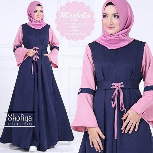 Jual Gamis Syar I Marbella Dress Grosir Baju Muslim Wanita