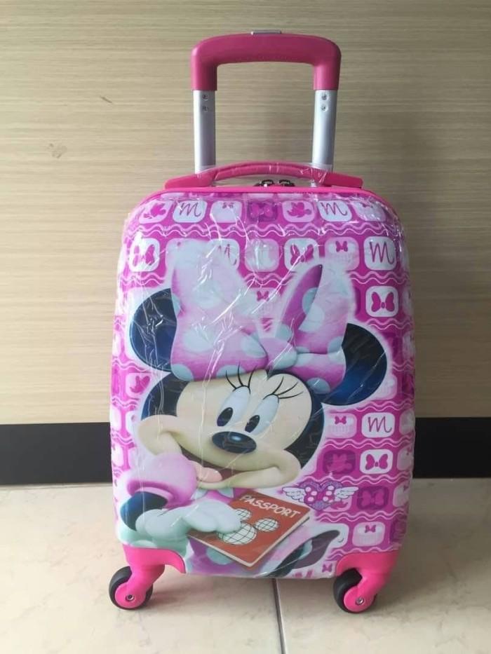 Diskon Tas Koper anak Anak Minnie Mouse Pink