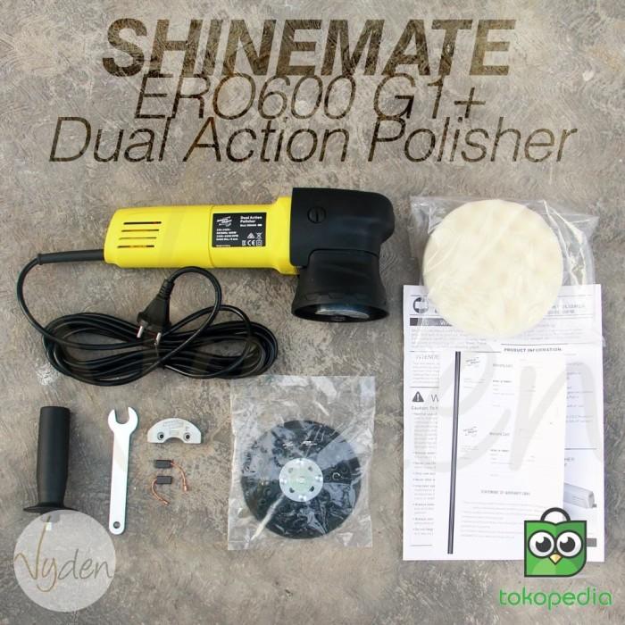 harga Dual action polisher shinemate ero600 g1+ include 3 pc ipo pad 6  flat Tokopedia.com