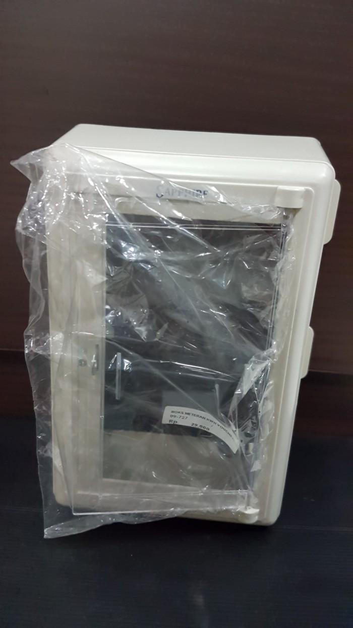 harga Kotak Pengaman Meteran Listrik Kwh Meter Prabayar Voucher /box Listrik Tokopedia.com