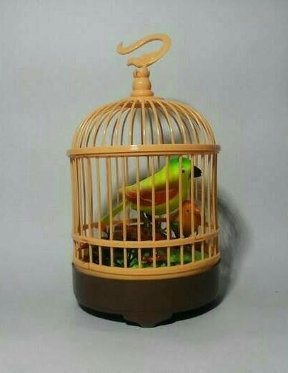 harga Mainan anak burung berkicau dalam sangkar lucu Tokopedia.com